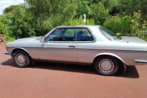 1982 MERCEDES 280 CE CEW AUTO SILVER
