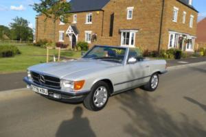 1983 MERCEDES 280 SL SILVER