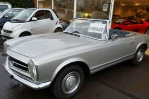 1965 Mercedes-Benz 230sl pagoda, nut & bolt restoration about 3 years ago