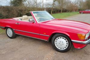 1989 Mercedes-Benz 300sl W107 R107 another well maintained car