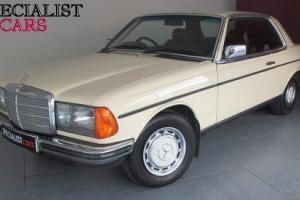 1983 A MERCEDES-BENZ C CLASS 2.3 230 CE 2D AUTO 136 BHP