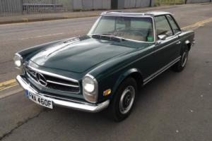 1968 Mercedes-Benz 280SL Pagoda manual LHD H/S Tops