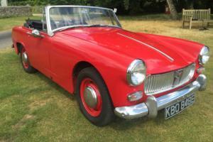 A very smart 1967 MG Midget Mark III 1275cc + MOT 07/17+great driver