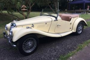 1954 MG TF, STUNNING NUT AND BOLT RESTORATION, LOVELY RUST FREE IVORY COACHWORK