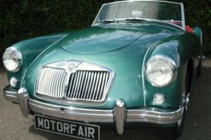 MG/ MGA ROADSTER 1956 HOME MARKET CAR,HERITAGE CERTIFICATE, Photo