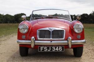 1958 MGA TWIN CAM ROADSTER
