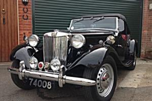 1953 MG TD Mk2 (LHD) A truly great example - fully detailed restoration