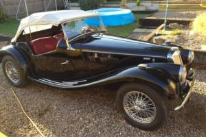 MG TF 1955,rust free,lhd,new chrome wires etc.