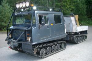 Hagglund BV206 3.0L Turbo Diesel and parts