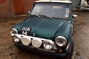 1969 mini cooper BARN FIND dry stored for the past 12 years, 1340cc, twin tanks