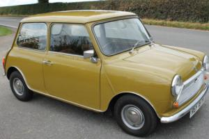 1977 Mini 1000 43000 Miles Very Original And Umessed With Super To Drive Classic