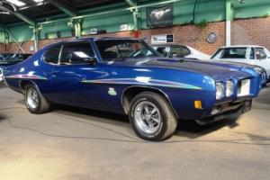 1970 Pontiac with GTO Judge modifications. 6.6L 400. Like Rolling Thunder.