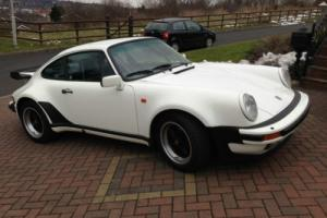 1986 Porsche 911 Carrera 3.2 Supersport (SSE) WIDE BODIED HERITAGE CERTIFICATE