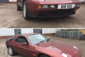 1986 PORSCHE 928 S2 MAROON ONLY 29000 MILES, 1 YEARS MOT,SERVICE HISTORY Photo