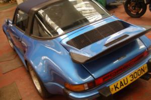 1975 PORSCHE 911 BLUE