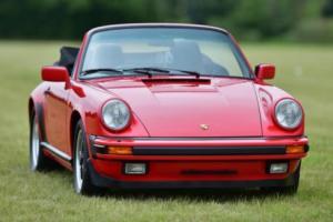 1988 Porsche Carrera Cabriolet Sport