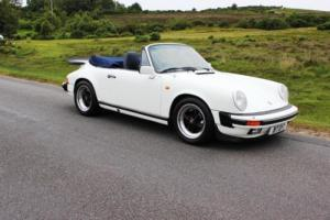 Porsche 911 3.2 Carrera Convertible 1984 80,000 Miles Photo