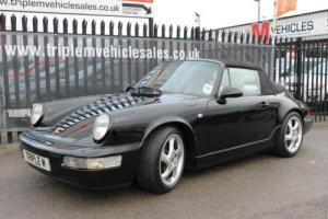 1990 H Porsche 911 (964) 3.6 Carrera 4 Cabriolet 87068 Miles Only! *Manual*