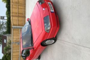 1989 RENAULT GTA V6 TURBO RED Photo