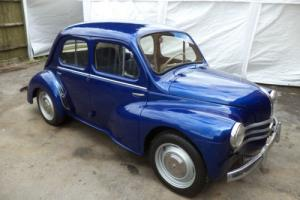 RENAULT 4CV 4DR(1958) MET BLUE! RESTORED! AMAZING INTERIOR! CAR IS NOW SOLD!