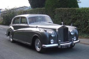 1962 Rolls Royce Silver Cloud II S.C.T 100
