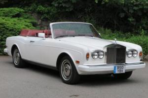 1985 Rolls-Royce Corniche II Convertible