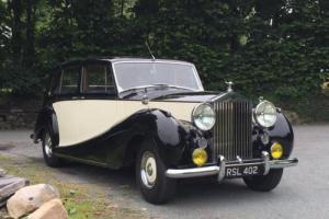 1953 Rolls-Royce Silver Wraith H J Mulliner Limousine BLW56