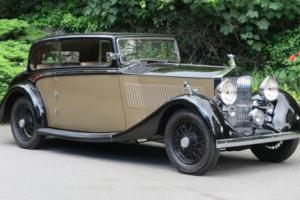 1935 Rolls-Royce 20/25 Barker 2 dr Saloon / Coupe GYH35