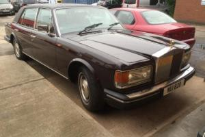 ROLLS ROYCE SILVER SPUR 1987 4 OWNERS