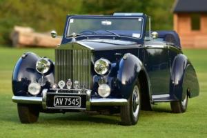 1951 Rolls Royce Silver Dawn Convertible