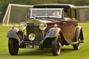 1934 Rolls Royce 20/25 Barker Sedanca