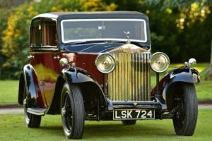 1933 Rolls Royce 20/25 Thrupp & Maberly Sports Saloon