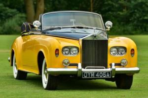 1963 Rolls Royce Silver Cloud III Hooper Drophead Coupe