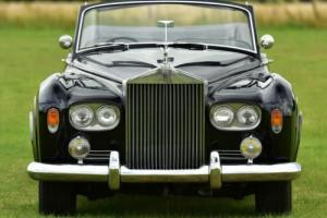 1963 Rolls Royce Silver Cloud 3 Convertible RHD