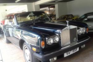 1977 Rolls-Royce Corniche Convertible LHD