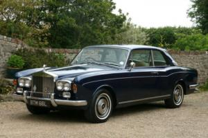 1972 Rolls Royce Corniche Fixed Head Coupe