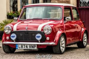 1993 ROVER MINI MAYFAIR AUTO RED COOPER COLOURS COMPLETELY RENOVATED