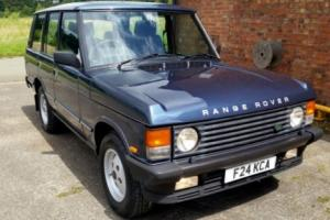 1989 ROVER RANGE ROVER VOGUE EFI A - CASPIAN BLUE METALLIC - STUNNING VEHICLE