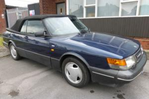 SAAB 900 TURBO 16S CONVERTIBLE *SAME DOCTOR FAMILY OWNED FOR THE LAST 18 YEARS*