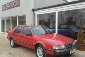 1995 Saab 9000 2.0 CD XS 41,000 miles from new 1 former keeper black leather Photo
