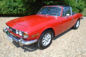1970 Triumph Stag 3.0 V8 Auto 2 door Convertible Red