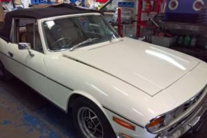 1977 TRIUMPH STAG AUTO WHITE