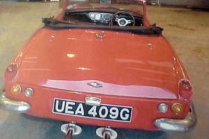 TRIUMPH SPITFIRE RED 1969 Photo