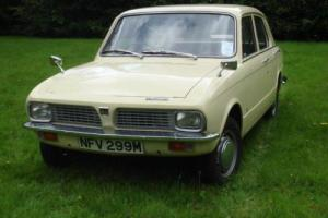 Triumph Toledo 1300cc 1973 LOW MILEAGE TAX EXEMPT Photo