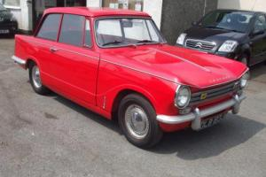 Triumph HERALD 13/60 2 litre fitted dolomite gearbox Photo