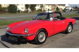 Triumph Spitfire 1500 with Overdrive, Wire wheels,6 months warranty