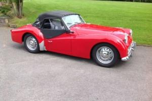 TRIUMPH TR3A OVERDRIVE EXCEPTIONAL CONDITION 1960