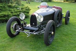 Bugatti Type 35/Type 37 T37 Replica (Onyx) 2014 (Black & white 'G' registration)