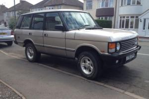 CLASSIC RANGE ROVER VOGUE SE 1991 V8/LPG UNFINISHED RESTORATION PROJECT