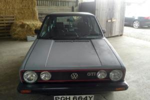 VW Golf 1.8 GTi Mk1 Photo